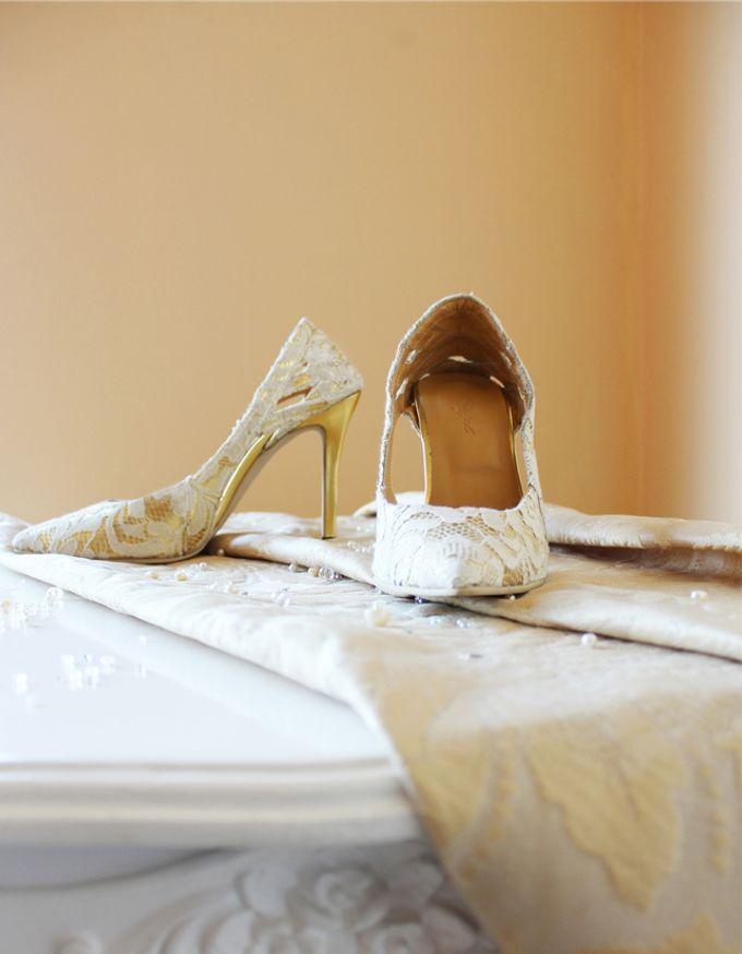 Bridal Lace Shoes by Risqué Designs - 006
