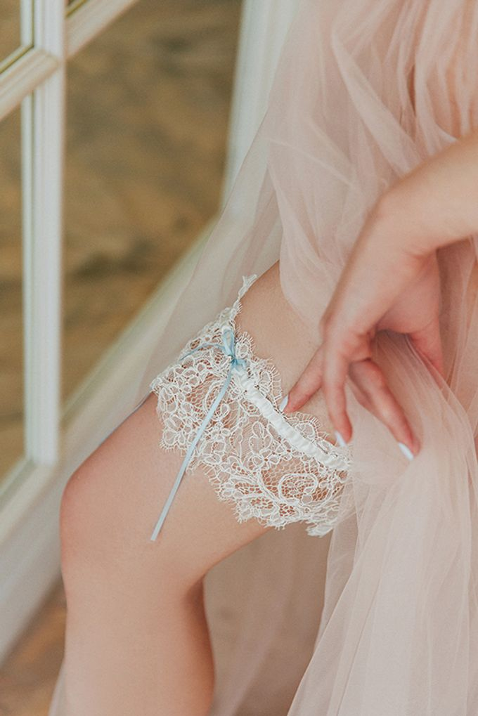 Garters by Fancy Bowtique Bridal Couture - 007