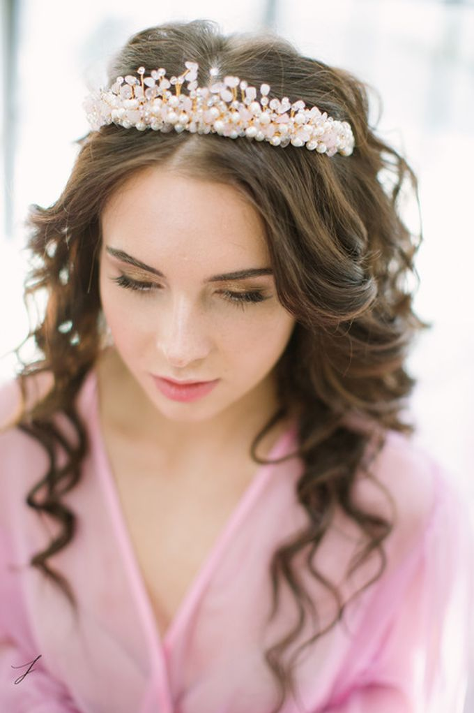 Morning of the Bride by Fancy Bowtique Bridal Couture - 005
