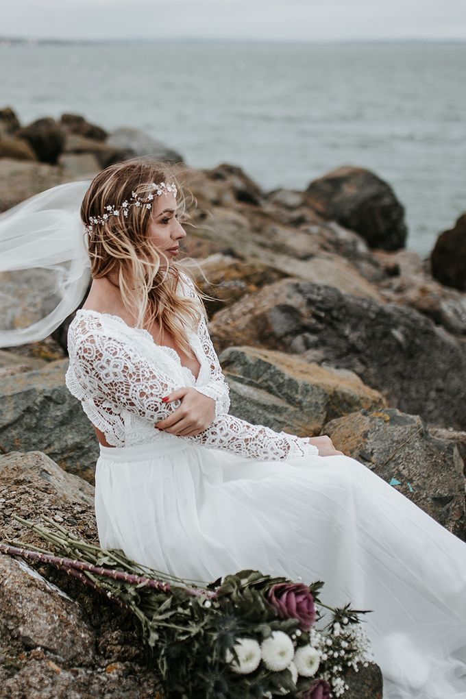 Windswept in Ireland by Fancy Bowtique Bridal Couture - 002