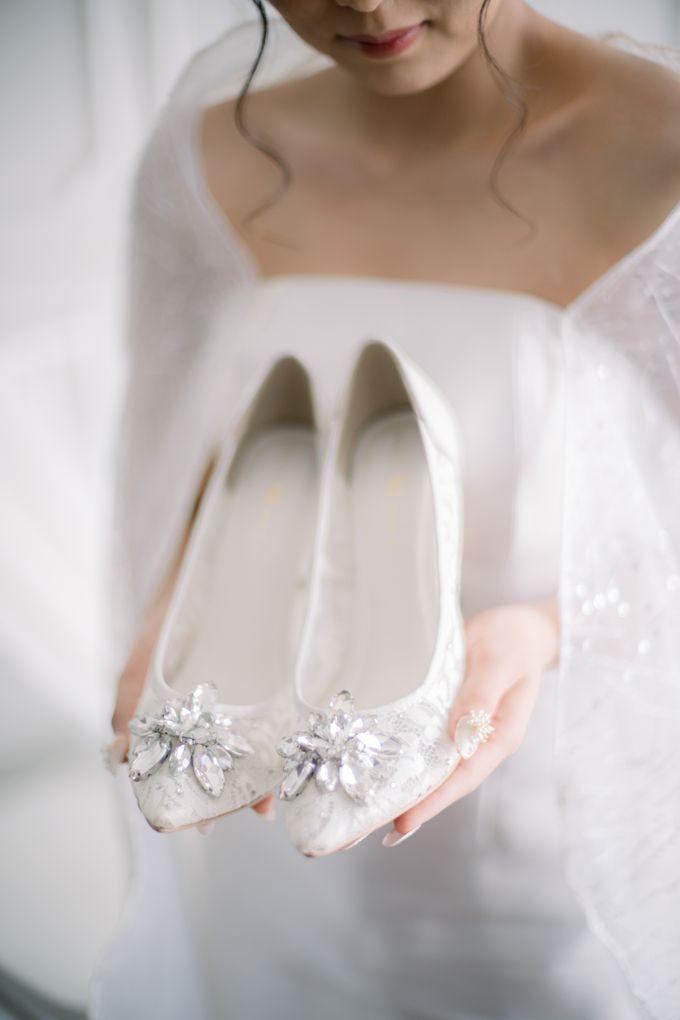 Starla Wedding Heels by Jolie Moda - 003