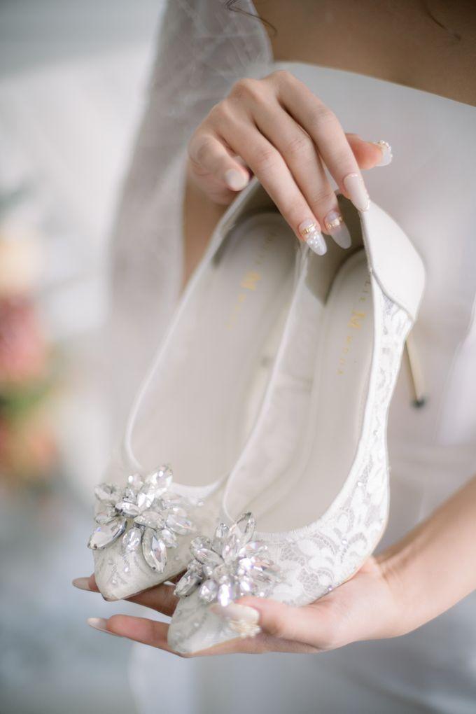 Starla Wedding Heels by Jolie Moda - 001