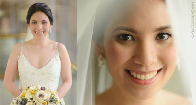 Bridal Make up by Carmie Locsin Makeup - 003