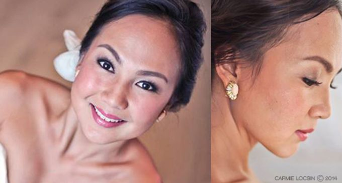 Bridal Make up by Carmie Locsin Makeup - 004