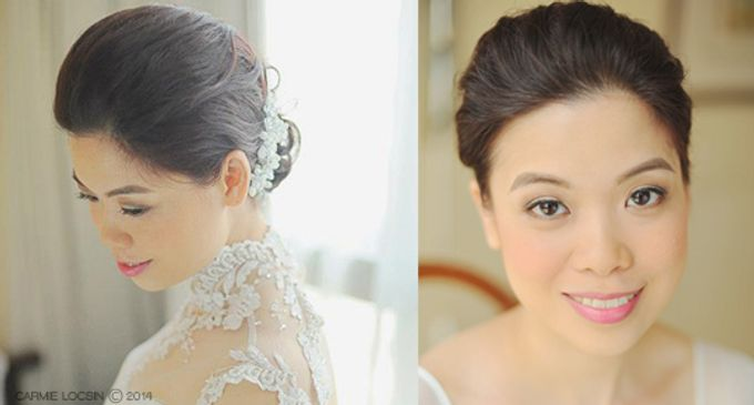 Bridal Make up by Carmie Locsin Makeup - 005