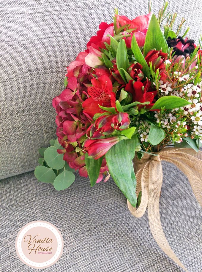 Bridal Bouquets by Vanilla House Creations - 002