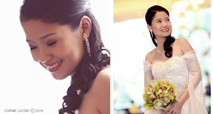 Bridal Make Up by Carmie Locsin Makeup - 001