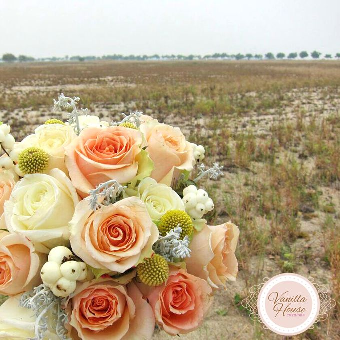 Bridal Bouquets by Vanilla House Creations - 003