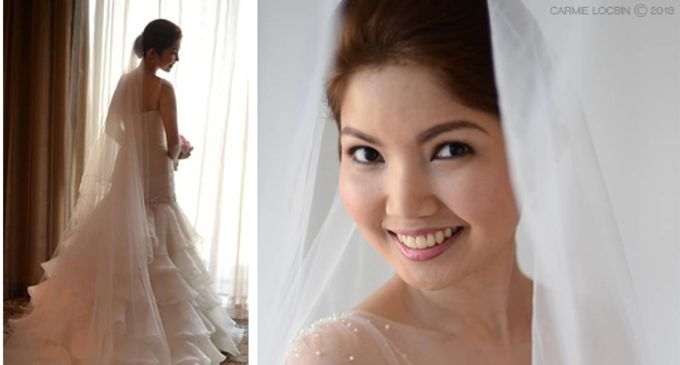 Bridal Make Up by Carmie Locsin Makeup - 003