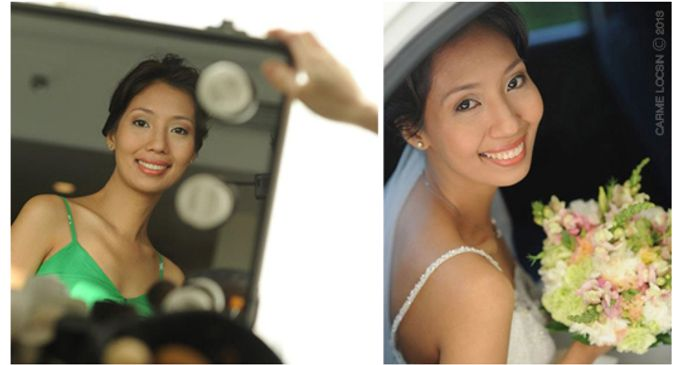 Bridal Make up by Carmie Locsin Makeup - 001