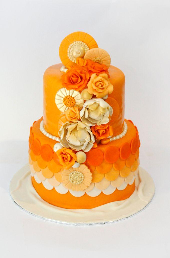 Bridal Shower Cake by Larasitabake - 001