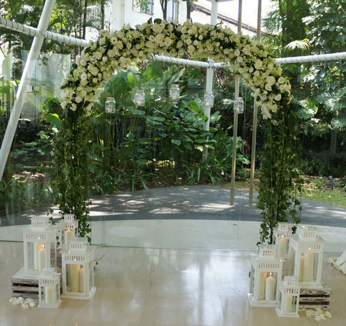 Wedding at Amara Glass Pavilion by The Olive 3 (S) Pte Ltd - 004