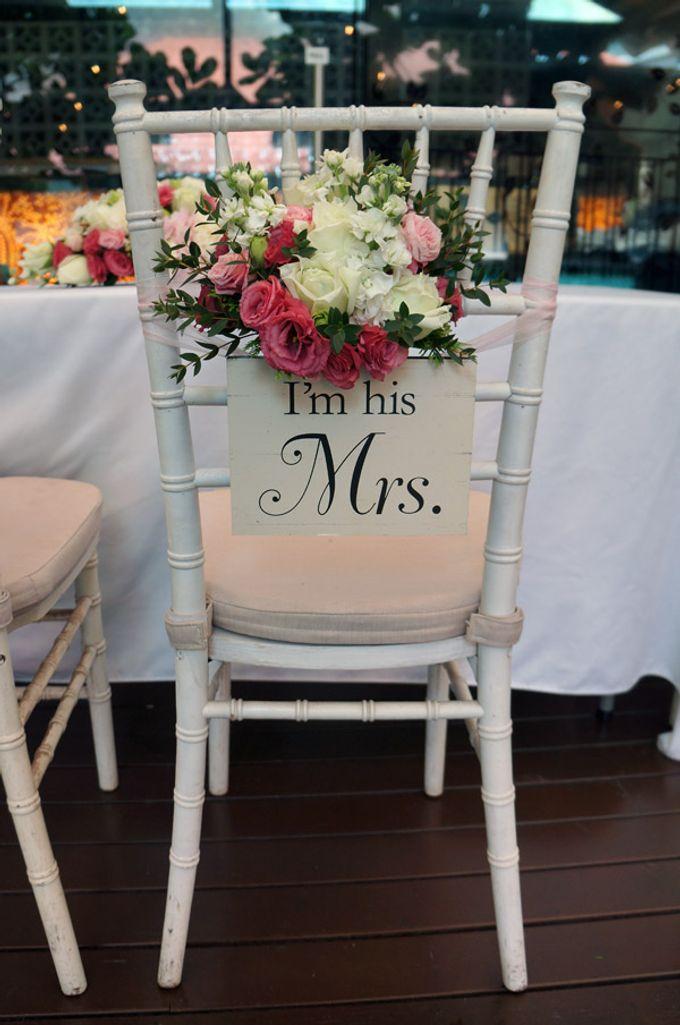 Wedding at Nosh Restaurant by The Olive 3 (S) Pte Ltd - 001