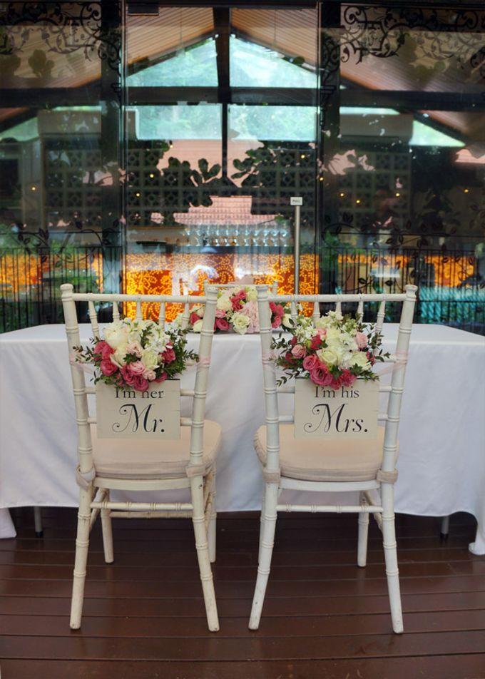 Wedding at Nosh Restaurant by The Olive 3 (S) Pte Ltd - 002