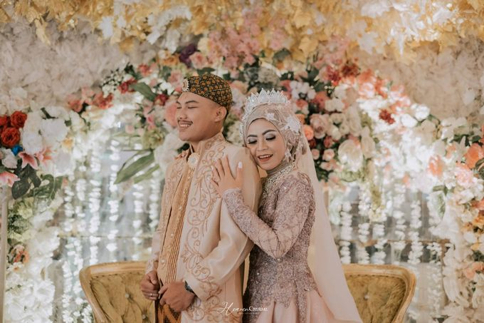 Risma and Ikhsan Wedding Candid by Heaven Creative - 014