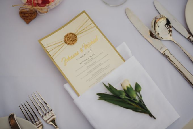 Wedding of Johanna & Michael by Lily Wedding Services - 010