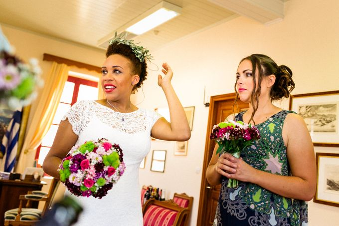 An Afro American wedding in Greece by MarrymeinGreece - 007