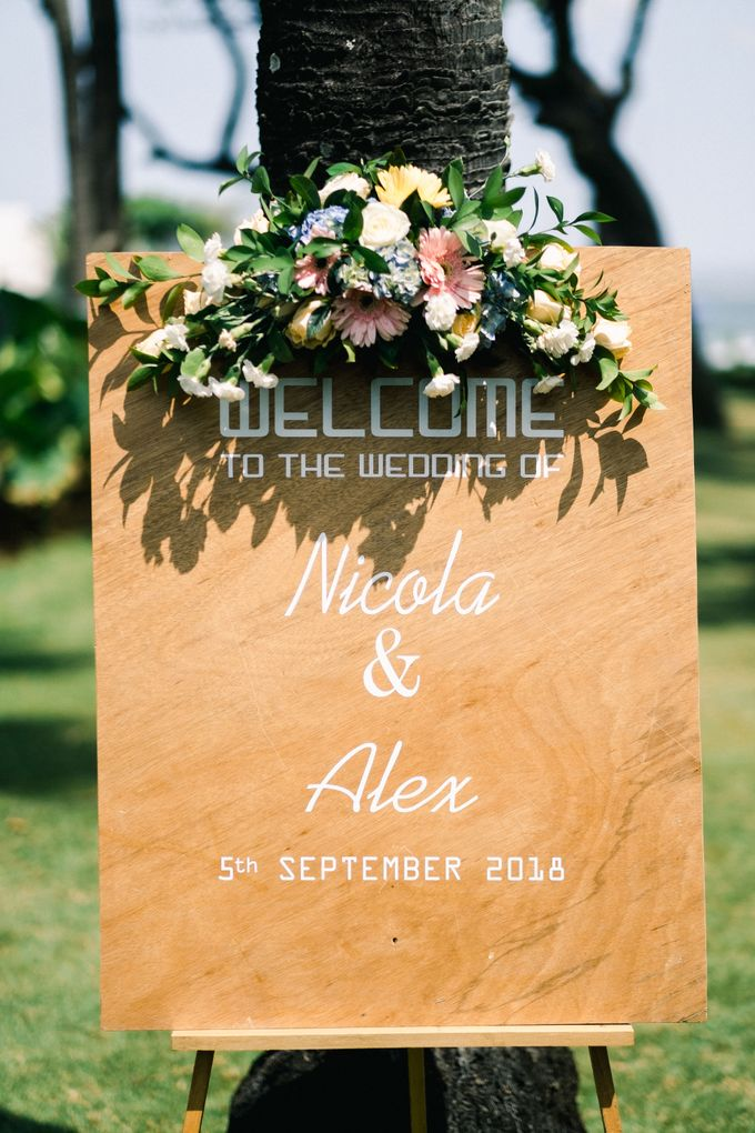 Wedding of Alex & Nicola by Lily Wedding Services - 001