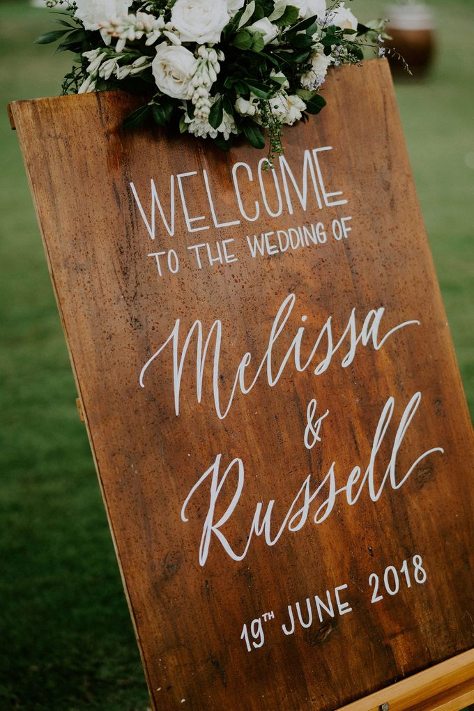 Wedding Melissa & Russell by Lily Wedding Services - 010
