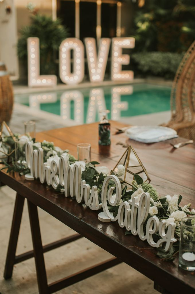 Wedding of Tahlia & Chris by Lily Wedding Services - 014