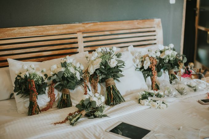 Wedding Tahlia & Chris by Lily Wedding Services - 002