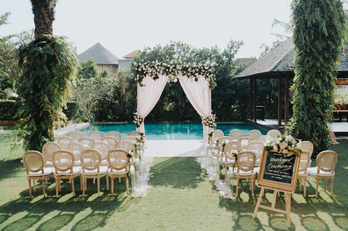 Wedding Of Laury & Stephane by Lily Wedding Services - 003