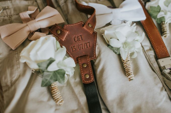 Wedding of Tahlia & Chris by Lily Wedding Services - 004