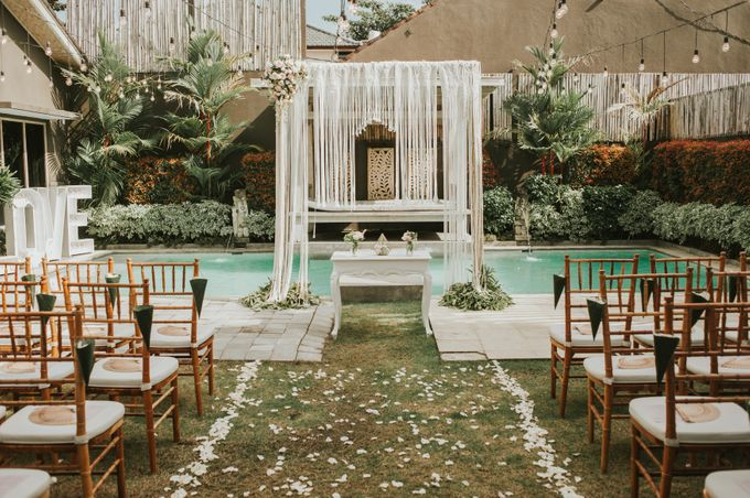 Wedding of Tahlia & Chris by Lily Wedding Services - 005