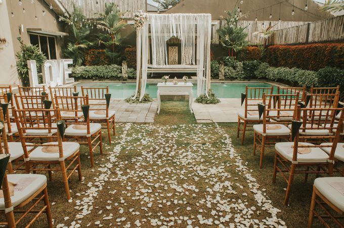 Wedding of Tahlia & Chris by Lily Wedding Services - 006