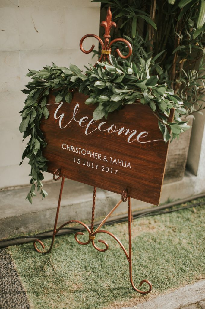 Wedding Tahlia & Chris by Lily Wedding Services - 007