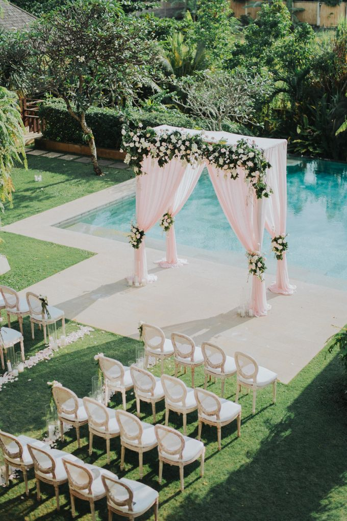 Wedding Of Laury & Stephane by Lily Wedding Services - 006