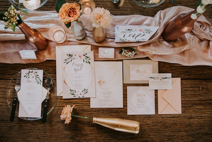 A Romantic Industrial Wedding by French Toast Productions - 001