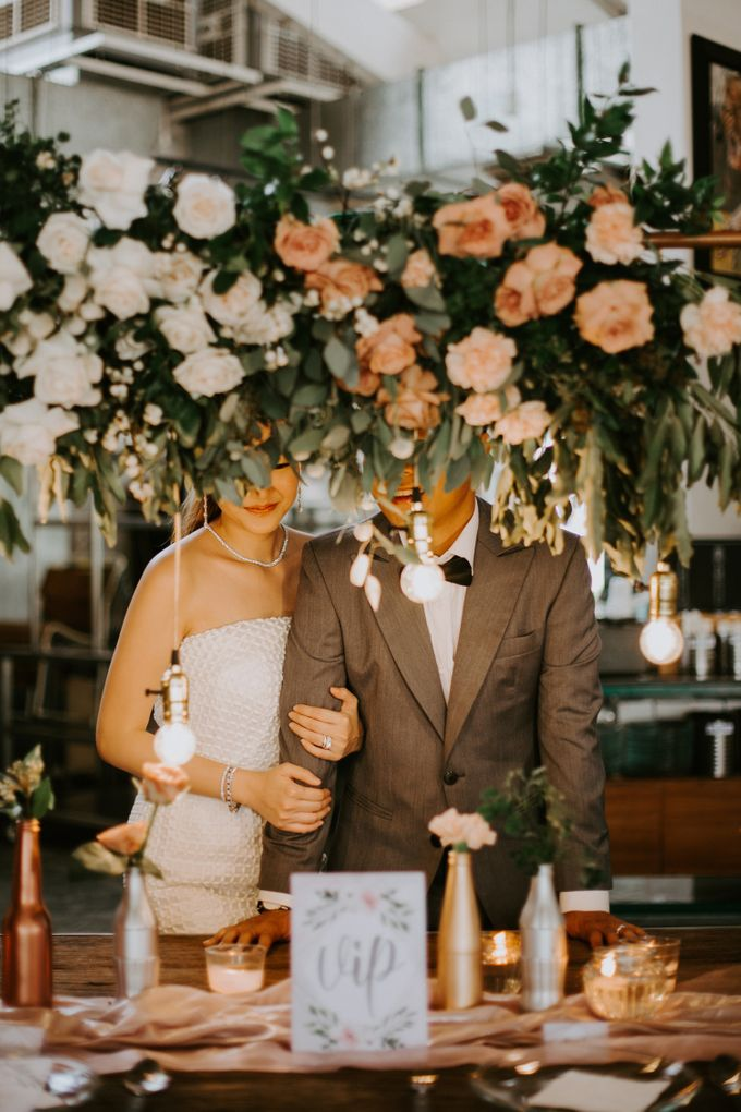 A Romantic Industrial Wedding by The Cat Carousel - 002