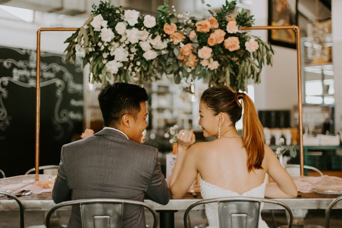A Romantic Industrial Wedding by French Toast Productions - 003