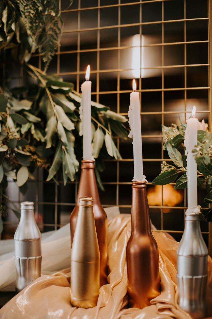 A Romantic Industrial Wedding by The Cat Carousel - 006