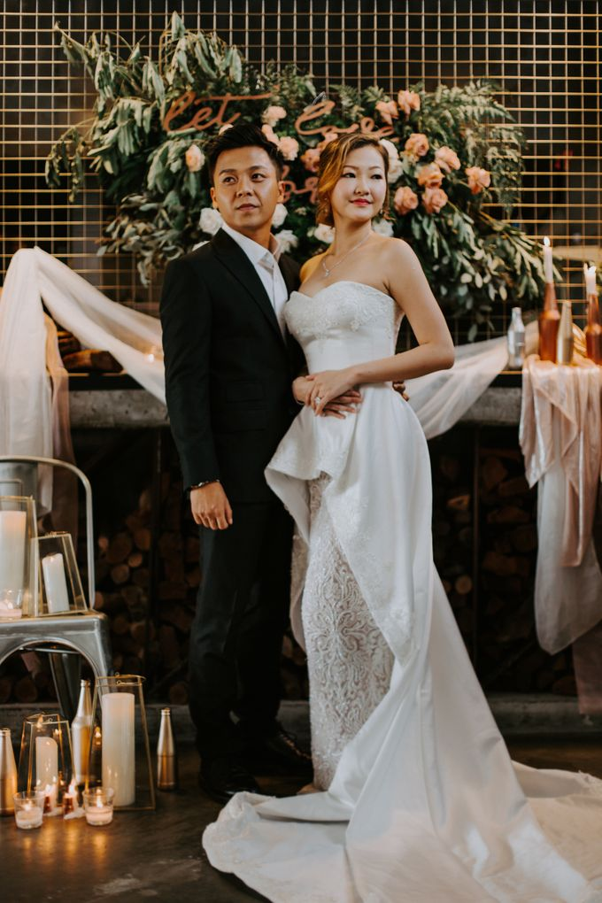 A Romantic Industrial Wedding by The Cat Carousel - 008