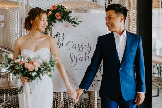A Romantic Industrial Wedding by French Toast Productions - 015