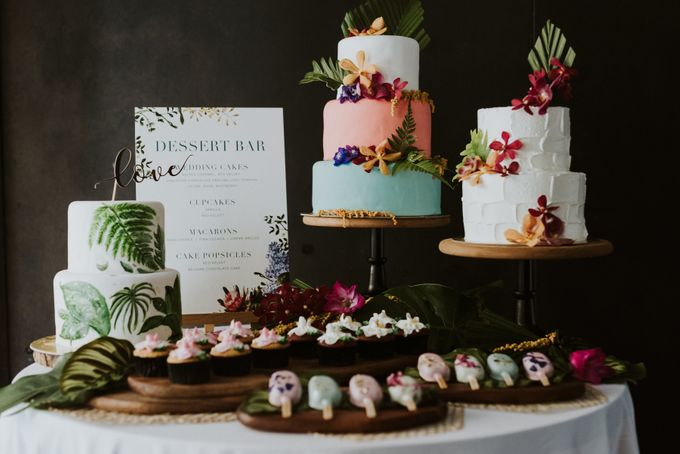 Tropical Wedding Inspiration by Le Meridien Singapore, Sentosa - 014