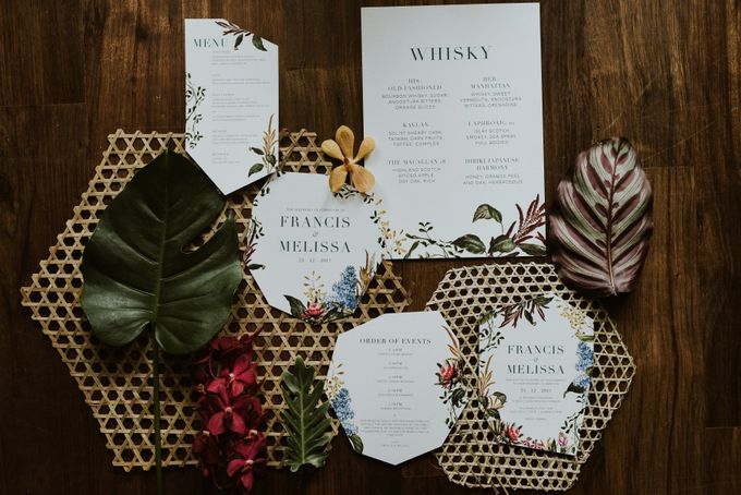 Tropical Wedding Inspiration by PapyPress - 002