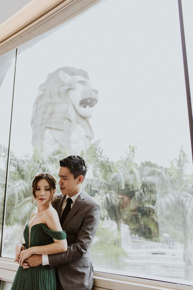 Tropical Wedding Inspirations by Le Meridien Singapore, Sentosa - 035
