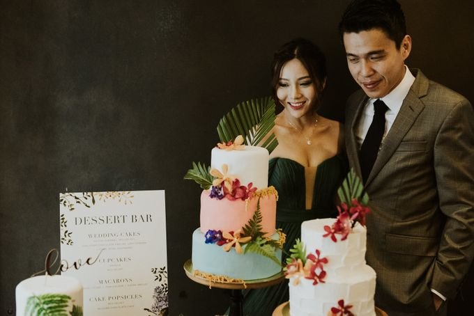 Tropical Wedding Inspirations by Le Meridien Singapore, Sentosa - 036