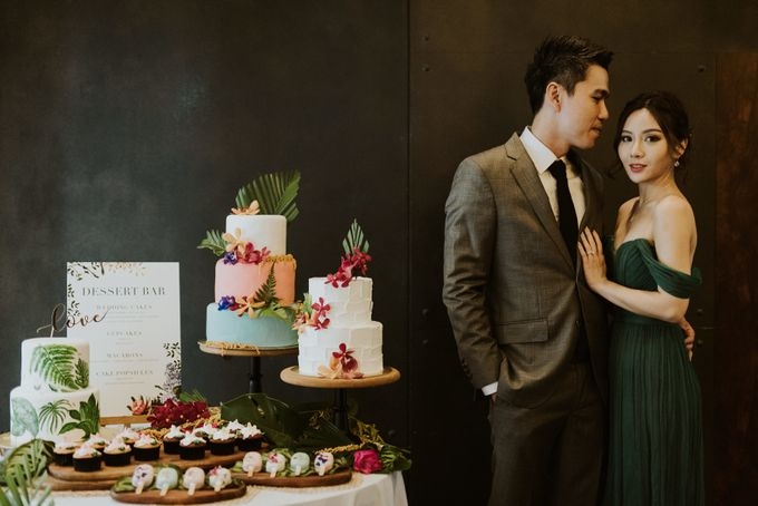 Tropical Wedding Inspirations by Le Meridien Singapore, Sentosa - 011