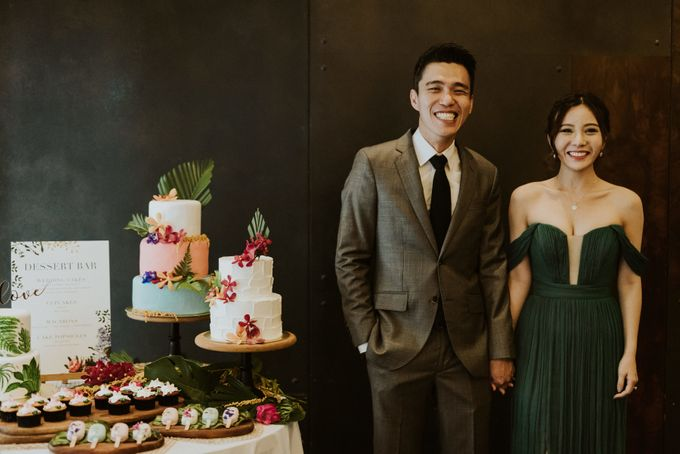 Tropical Wedding Inspirations by Le Meridien Singapore, Sentosa - 038