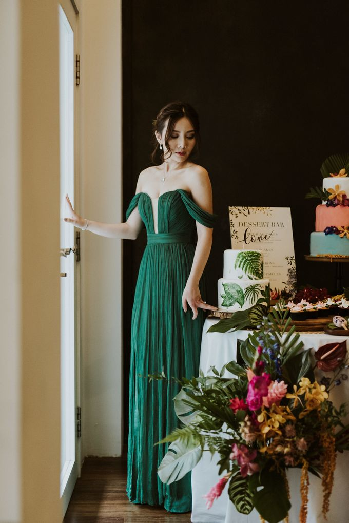 Tropical Wedding Inspirations by Le Meridien Singapore, Sentosa - 040