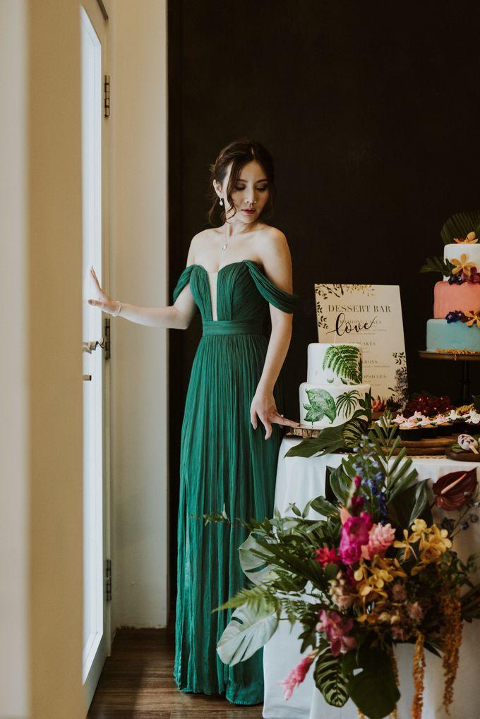 Tropical Wedding Inspirations by TangYong Hair & Makeup - 040