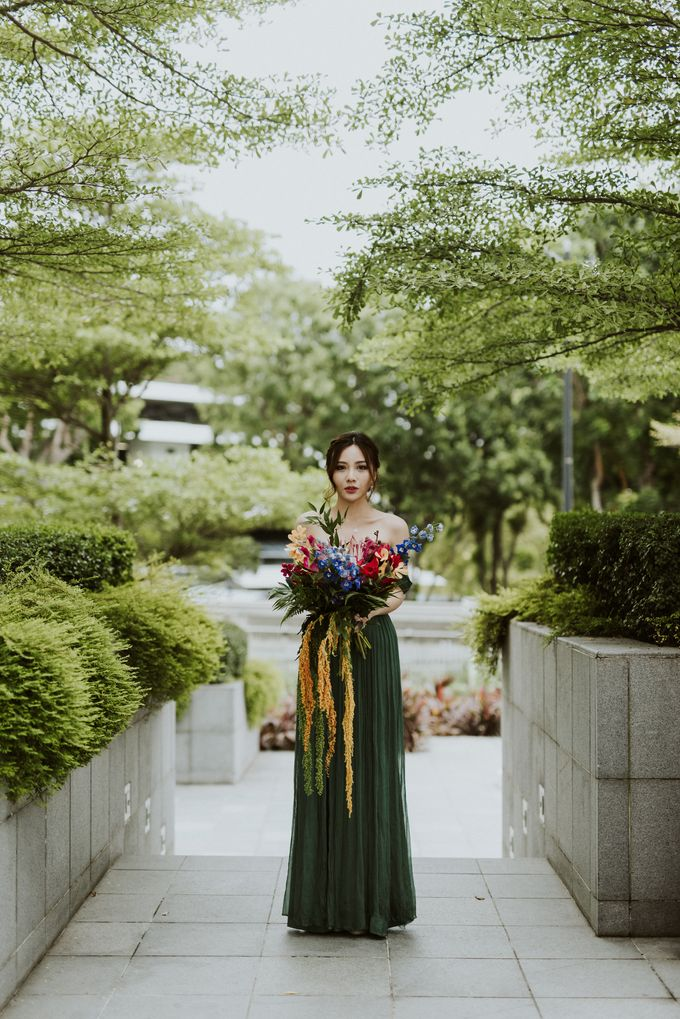 Tropical Wedding Inspiration by Le Meridien Singapore, Sentosa - 016
