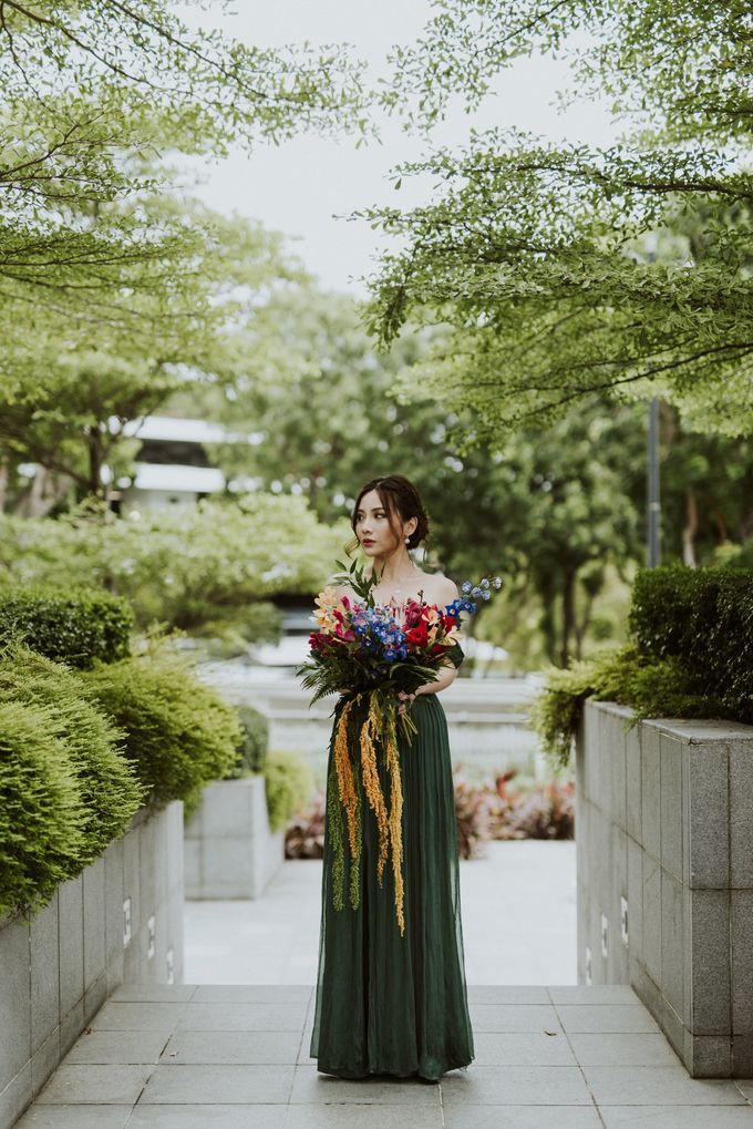 Tropical Wedding Inspirations by Le Meridien Singapore, Sentosa - 041