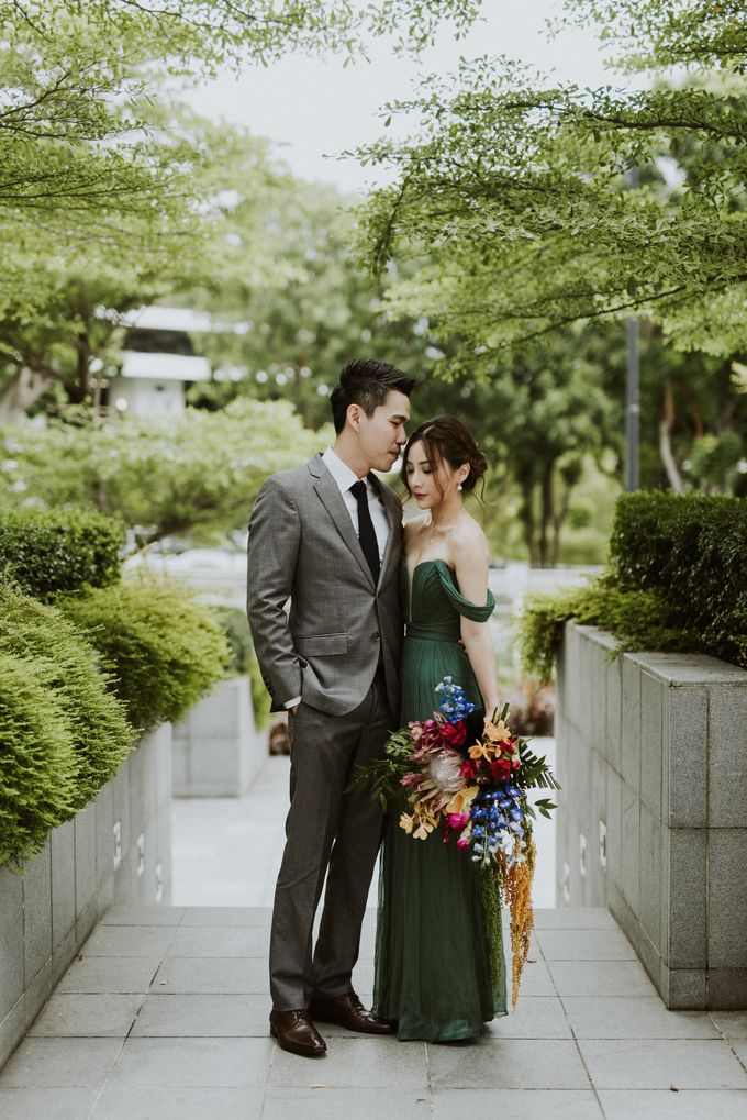 Tropical Wedding Inspirations by Le Meridien Singapore, Sentosa - 042