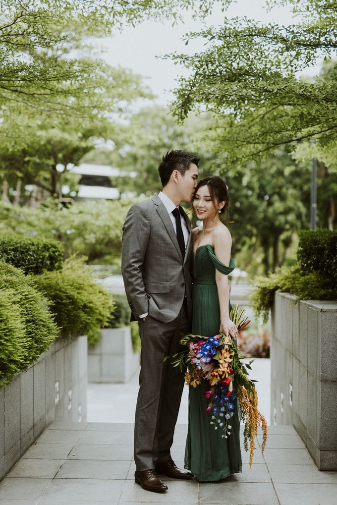 Tropical Wedding Inspirations by Le Meridien Singapore, Sentosa - 043