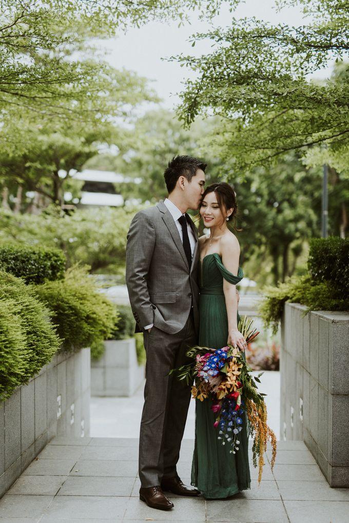 Tropical Wedding Inspirations by TangYong Hair & Makeup - 043